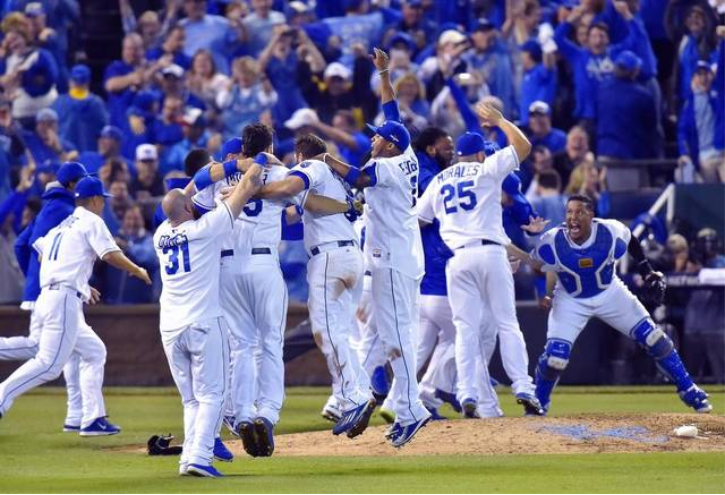 KC Royals Win the Pennant