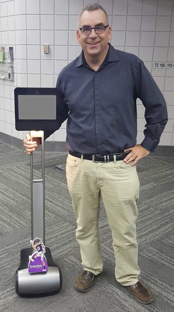 Me with a telepresence robot